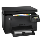 МФУ лазерное ЦВЕТНОЕ HP ColorLaserJet Pro M176n (принтер, сканер, копир), А4, 16 стр./<wbr/>мин., 20000 стр./<wbr/>мес., с/<wbr/>к (б/<wbr/>к USB)