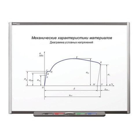 """Интерактивная доска 64"""" SMART Board SB660, резистивная, 139×106 см, 4:3, USB, 1 пользователь"""