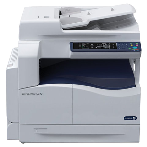 МФУ лазерное XEROX WorkCentre 5022D (принтер, сканер, копир), А3/<wbr/>А4, 22 стр./<wbr/>мин, 20000 стр./<wbr/>мес., ДУПЛЕКС, ДАПД (б/<wbr/>к USB)