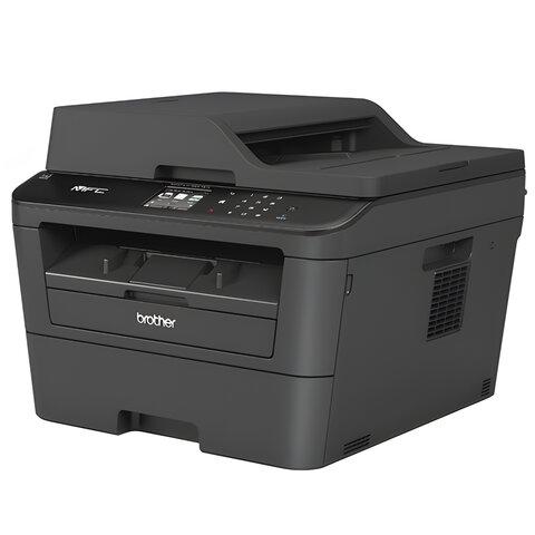 МФУ лазерное BROTHER MFC-L2720DWR (принтер, копир, сканер, факс), А4, 30 стр./мин, 10000 стр/мес ДУПЛЕКС АПД LCD WiFi с/к(б/к USB)