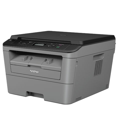 МФУ лазерное BROTHER DCP-L2500DR (принтер, копир, сканер), А4, 26 стр./<wbr/>мин, 10000 стр./<wbr/>мес., ДУПЛЕКС (без кабеля USB)