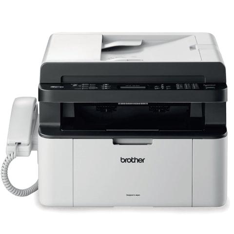 МФУ лазерное BROTHER MFC-1815R (принтер, копир, сканер, факс), А4, 20 стр./<wbr/>мин, 10000 стр./<wbr/>мес., АПД (б/<wbr/>к USB)