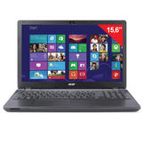 "������� ACER Extensa, 15,6"", INTEL Celeron N2840 2,16 ���, 2 ��, 500 ��, DVD-RW, Windows 8.1, ������, EX2508-C6BE"