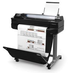 Плоттер HP Designjet T520 24 (CQ890C), А1/<wbr/>А3+, сетевая карта, Wi-Fi, с подставкой (без кабеля USB)