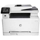 МФУ лазерное ЦВЕТНОЕ HP LaserJet Pro M277dw (принтер, сканер, копир, факс), А4, 18 стр./<wbr/>мин, 30000 стр./<wbr/>мес. АПД ДУПЛЕКС Wi-Fi с/<wbr/>к