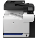 МФУ лазерное ЦВЕТНОЕ HP LaserJet Pro M570dn (принтер, сканер, копир, факс), А4, 30 стр./<wbr/>мин, 75000 стр./<wbr/>мес., АПД, ДУПЛЕКС, с/<wbr/>к