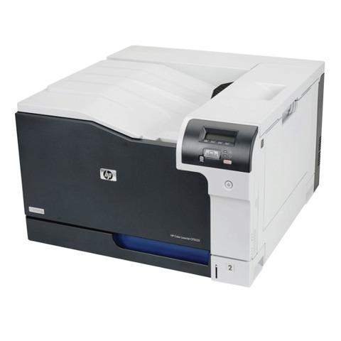 Принтер лазерный ЦВЕТНОЙ HP Color LaserJet CP5225n, А3, 20 стр./<wbr/>мин, 75000 стр./<wbr/>мес., сетевая карта (без кабеля USB)