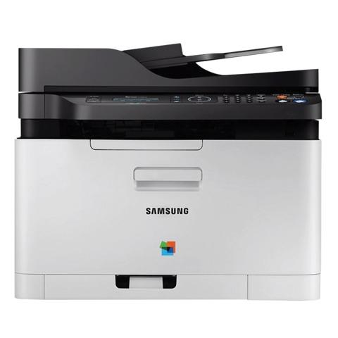 МФУ лазерное ЦВЕТНОЕ SAMSUNG SL-C480FW (принтер, сканер, копир, факс), А4, 18 стр./мин, 20000 стр./мес., АПД Wi-Fi с/к (с каб USB)