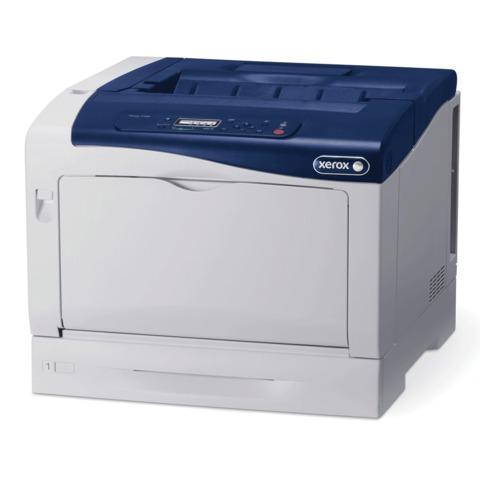 Принтер лазерный ЦВЕТНОЙ XEROX Phaser 7100N, А3, 30 стр./<wbr/>мин, 55000 стр./<wbr/>мес., сетевая карта (без кабеля USB)