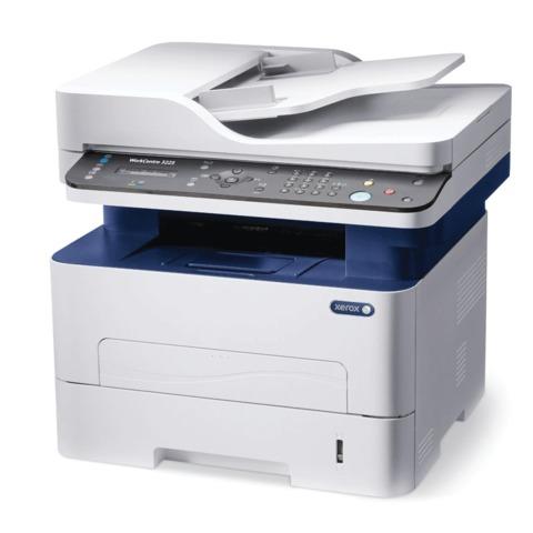 МФУ лазерное XEROX Work Centre 3225DNI (принтер, копир, сканер, факс), A4, 28 стр./<wbr/>мин, 30000 стр./<wbr/>мес, АПД, Wi-Fi, с/<wbr/>к (б/<wbr/>к USB)