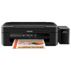 МФУ струйное EPSON L222 (принтер, копир, сканер), А4, 5760×1440, 27стр./<wbr/>мин, с СНПЧ (без кабеля USB)