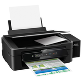 МФУ струйное EPSON L366 (принтер, копир, сканер), А4, 5760×1440, 33 стр./<wbr/>мин, с СНПЧ, Wi-Fi (без кабеля USB)