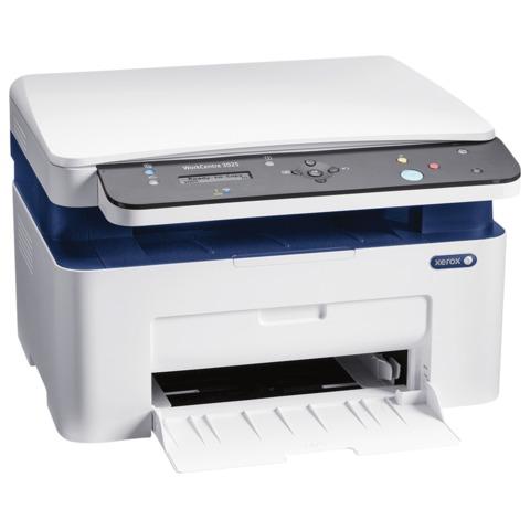 МФУ лазерное XEROX Work Centre 3025BI (принтер, копир, сканер), А4, 20 стр./<wbr/>мин, 15000 стр./<wbr/>мес., Wi-Fi (кабель USB в комплекте)