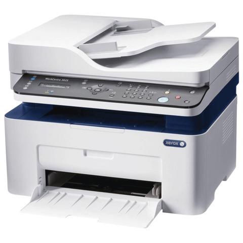 МФУ лазерное XEROX Work Centre 3025NI (принтер, копир, сканер, факс), А4, 20 стр./мин, 15000 стр./мес., АПД с/к WiFi (с каб. USB)