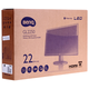 "Монитор LED 21,5"" (55 см) BENQ GL2250HM (9H.L6XLA.DBE), 1920×1080, TN+film, 16:9, DVI, HDMI, 250 cd, 5 ms, черный"