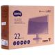 "������� LED 21,5"" (55 ��) BENQ GL2250HM (9H.L6XLA.DBE), 1920×1080, TN+film, 16:9, DVI, HDMI, 250 cd, 5 ms, ������"