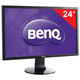 "������� LED 24"" (61 ��) BENQ GL2460HM (9H.LA7LB.QBE), 1920×1080, TN, 16:9, DVI, HDMI, 250 cd, 5 ms, ������"