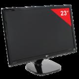"""Монитор LED 23"""" (58 см) LG 23MP48D-P, 1920×1080, IPS, 16:9, VGA, DVI, 250 cd, 5 ms, черный"""