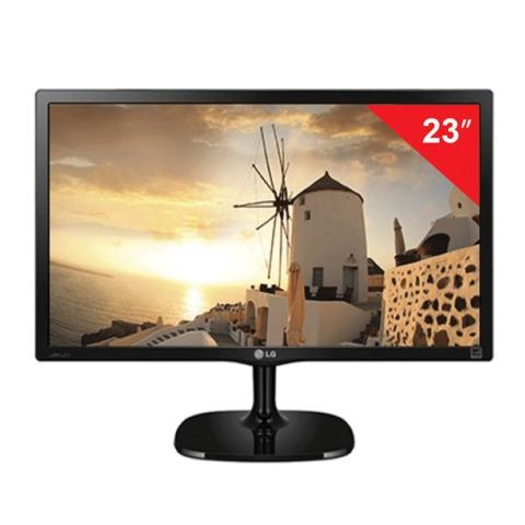 """Монитор LED 23"""" (58 см) LG 23MP57D-P, 1920×1080, IPS, 16:9, DVI, D-Sub, 250 cd, 5 ms, черный"""