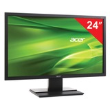 "Монитор LED 24"" (61 см) ACER V246HLbd (UM.FV6EE.002), 1920×1080, TN+film, 16:9, DVI, D-Sub, 250 cd, 5 ms, черный"