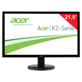 "������� LED 21,5"" (55 ��) ACER K222HQLbd (UM.WW3EE.002), 1920×1080, TN+film, 16:9, DVI, D-Sub, 200 cd, 5 ms, ������"