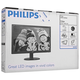 "������� LED 21,5"" (55 ��) PHILIPS 223V5LSB2, 1920×1080, TN+film, 16:9, D-Sub, 200 cd, 5 ms, ������"