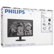 """Монитор LED 23,6"""" (60 см) PHILIPS 243V5LSB, 1920×1080, TN+film, 16:9, DVI, D-Sub, 250 cd, 5 ms, черный"""