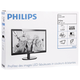 "Монитор LED 24"" (61 см) PHILIPS 246V5LSB, 1920×1080, TN+film, 16:9, DVI, D-Sub, 250 cd, 5 ms, черный"