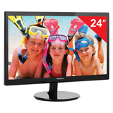 "������� LED 24"" (61 ��) PHILIPS 246V5LSB, 1920×1080, TN+film, 16:9, DVI, D-Sub, 250 cd, 5 ms, ������"