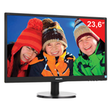 "������� LED 23,6"" (60 ��) PHILIPS 243V5LAB, 1920×1080, TN+film, 16:9, DVI, D-Sub, 250 cd, 5 ms, ������"
