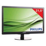 "Монитор LED 21,5"" (55 см) PHILIPS 226V4LAB, 1920×1080, TN+film, 16:9, DVI, D-Sub, 250 cd, 5 ms, черный"