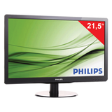 "������� LED 21,5"" (55 ��) PHILIPS 226V4LAB, 1920×1080, TN+film, 16:9, DVI, D-Sub, 250 cd, 5 ms, ������"