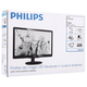 "Монитор LED 21,5"" (55 см) PHILIPS 226V4LAB, 1920×1080, TN+film, 16:9, DVI, D-Sub, 250 cd, 5 ms, черный"
