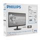 """Монитор LED 21,5"""" (55 см) PHILIPS 224E5QHSB, 1920×1080, AH-IPS, 16:9, DVI, D-Sub, 250 cd, 14 ms, черный"""