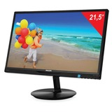 "Монитор LED 21,5"" (55 см) PHILIPS 224E5QHSB, 1920×1080, AH-IPS, 16:9, DVI, D-Sub, 250 cd, 14 ms, черный"