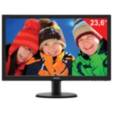 "Монитор LED 23,6"" (60 см) PHILIPS TN+film, 16:9, DVI, HDMI, D-Sub, 250 cd, 1920×1080, 5 ms, черный"