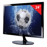 "Монитор LED 24"" (61 см) SAMSUNG LS24D300HSI/<wbr/>RU, 1920×1080, TN+film, 16:9, HDMI, D-Sub, 250 cd, 2 ms, черный"