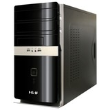 Системный блок IRU Office 310 MT INTEL Celeron G1840, 2,8 ГГц, 4 Гб, 500 Гб, DVD-RW, Windows 7 Pro, черный