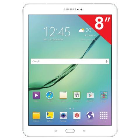 """Планшет SAMSUNG GALAXY Tab S2 SM-T710N, 8"""", Wi-Fi, 8 Мп, 32 Гб, microSD, белый, пластик"""