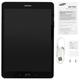 """������� SAMSUNG GALAXY Tab A SM-T555N, 9,7"""", 4G (LTE), Wi-Fi, 2/<wbr/>5 ��, 16 ��, microSD, ������, �������"""