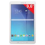 "Планшет SAMSUNG GALAXY Tab E SM-T561N, 9,6"", 3G, Wi-Fi, 2/<wbr/>5 Мп, 8 Гб, microSD, белый, пластик"