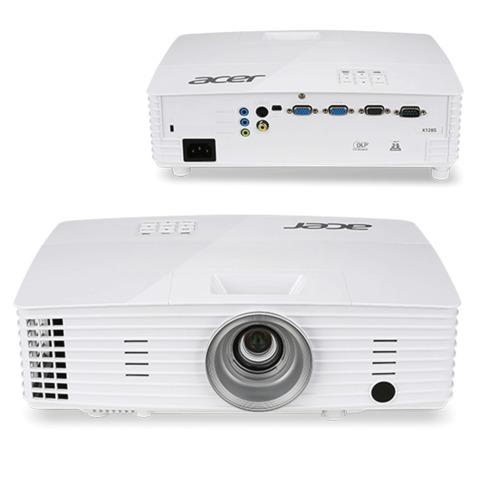 Проектор мультимедийный ACER X1285, DLP, 1024×768, 3200 Лм, 20000:1, 3D, VGA