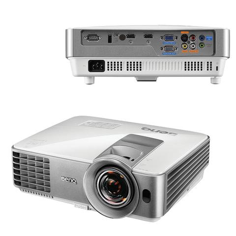 Проектор мультимедийный BENQ MS630ST, DLP, 800×600, 3200 Лм, 13000:1, 3D, VGA, HDMI, короткофокусный
