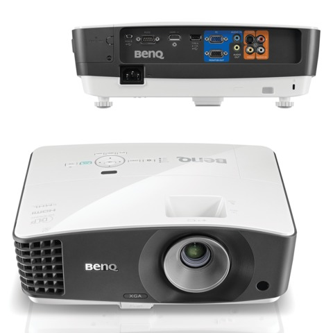 Проектор BENQ MX704, DLP, 1024×768, 4:3, 4000 лм, 13000:1, 3 кг