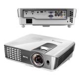 Проектор мультимедийный BENQ W1080ST+, DLP, 1920×1080, 2200 Лм, 10000:1, 3D, VGA, HDMI, короткофокусный