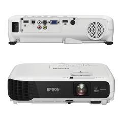 Проектор EPSON EB-X04, LCD, 1024×768, 4:3, 2800 лм, 15000:1, 2,4 кг