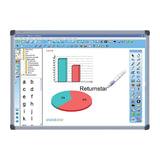 """Интерактивная доска 82"""" IQBOARD DVT T082, оптическая, 162×117 см, 4:3, USB, 2 пользователя"""