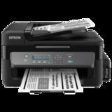 МФУ струйное EPSON M205 (принтер, сканер, копир), A4, 1440×720 dpi, 34 стр./<wbr/>мин, АПД, Wi-Fi, с СНПЧ (без кабеля USB)