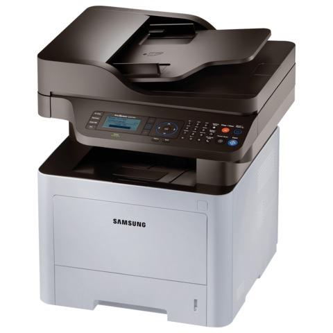 МФУ лазерное SAMSUNG ProXpress M3870FD (принтер, копир, сканер, факс), А4, 38 стр./<wbr/>мин., 80000 стр./<wbr/>мес., ДУПЛЕКС, АПД, с/<wbr/>к