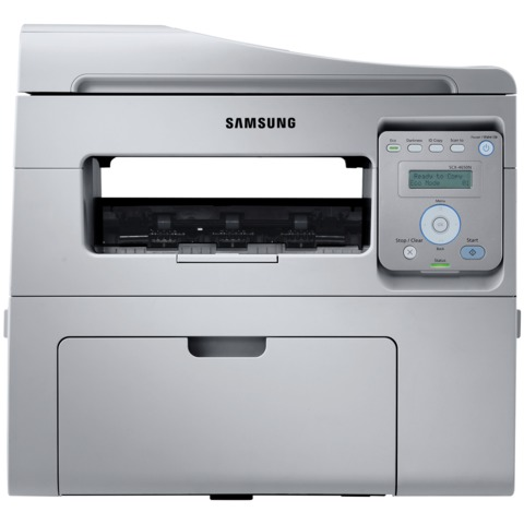 МФУ лазерное SAMSUNG SCX-4650N (принтер, сканер, копир), A4, 24 стр./<wbr/>мин., 12000 стр./<wbr/>мес., АПД, сетевая карта